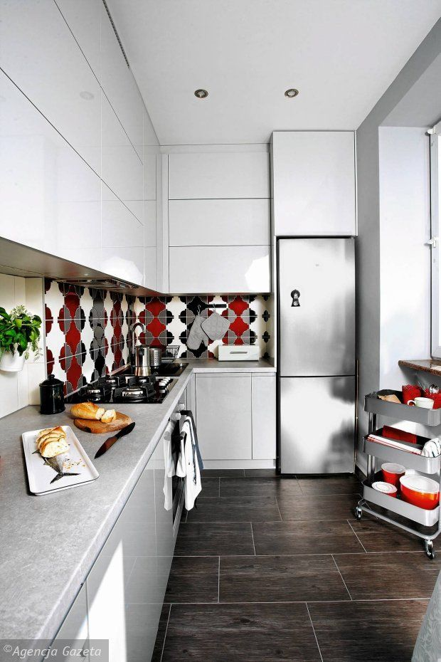 Waska Kuchnia Z Charakterem Kitchen Design Small Kitchen Home Decor