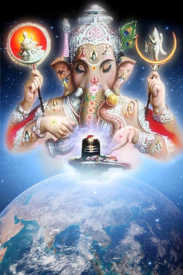 Ganesh Bhagwan & Shivling   avtars   Ganesh bhagwan, Hindu