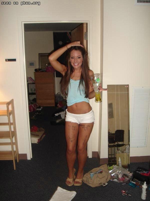 That College girls mini skirt