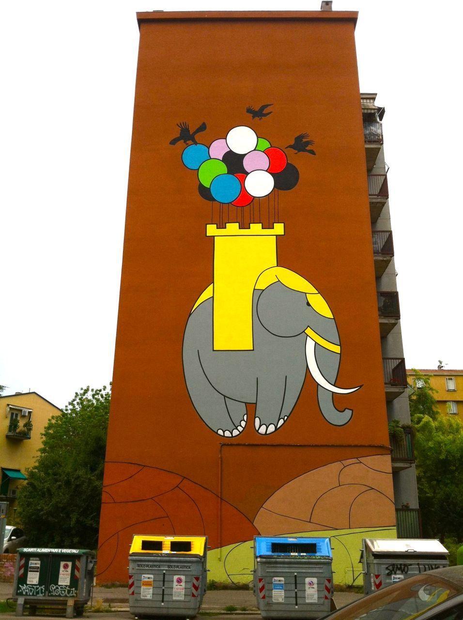 Street Art in Italy #streetart