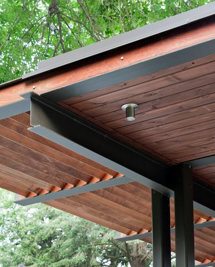 Modern Pergola Some Covered Some With Openings Terrazas
