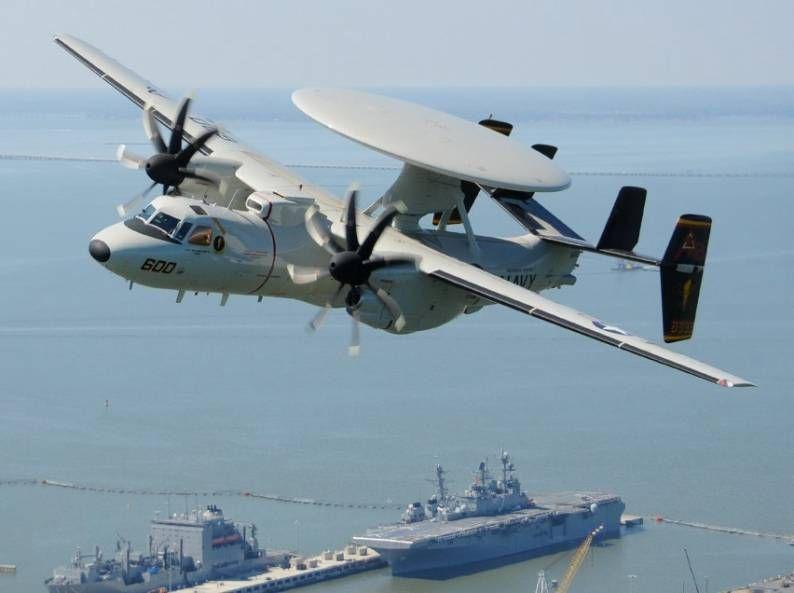 VAW-125 Tigertails e-2d hawkeye avanzada cvw-1 Norfolk estación naval Virginia