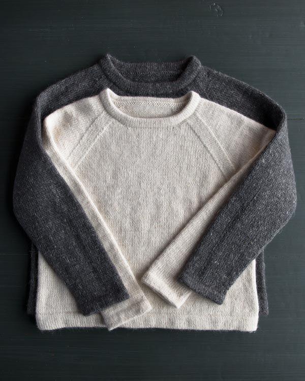 Classic Hemmed Crewneck | Knit | Pinterest | Tejer punto, Lana y Tejido