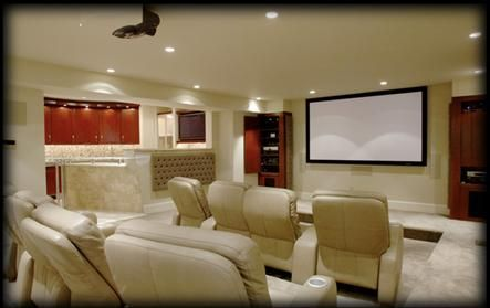 images about home theaters on pinterest theater rooms popcorn maker and home theater systems home - Home Theatre Design Ideas
