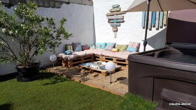 Palettenmobel Chillecke Outdoor Decor Patio Umbrella Patio