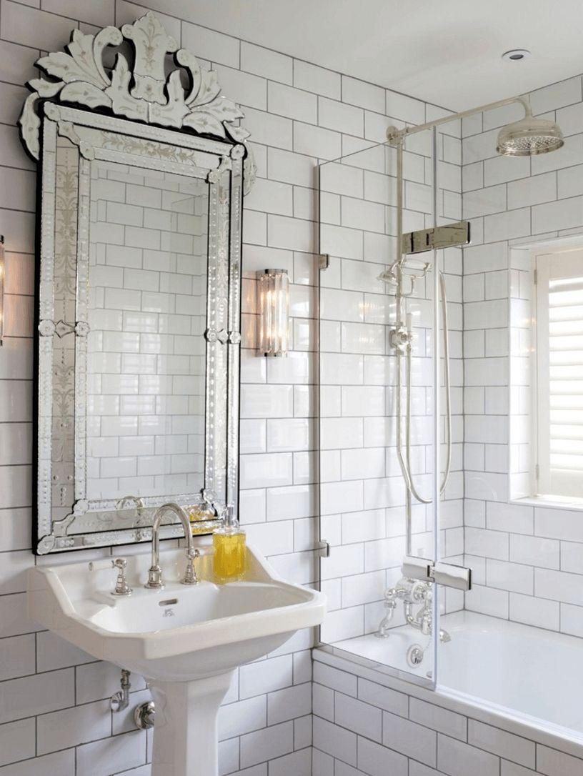 Vintage Spiegel Fur Badezimmer Spiegel Spiegel Pinterest
