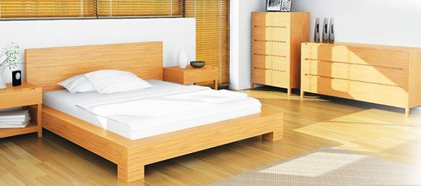 Orchid Bamboo Platform Bed By Greenington With Images King