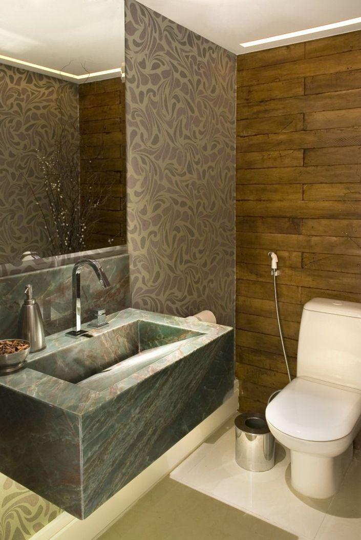 Banheiros e lavabos com cubas esculpidas modelos e fotos para ...