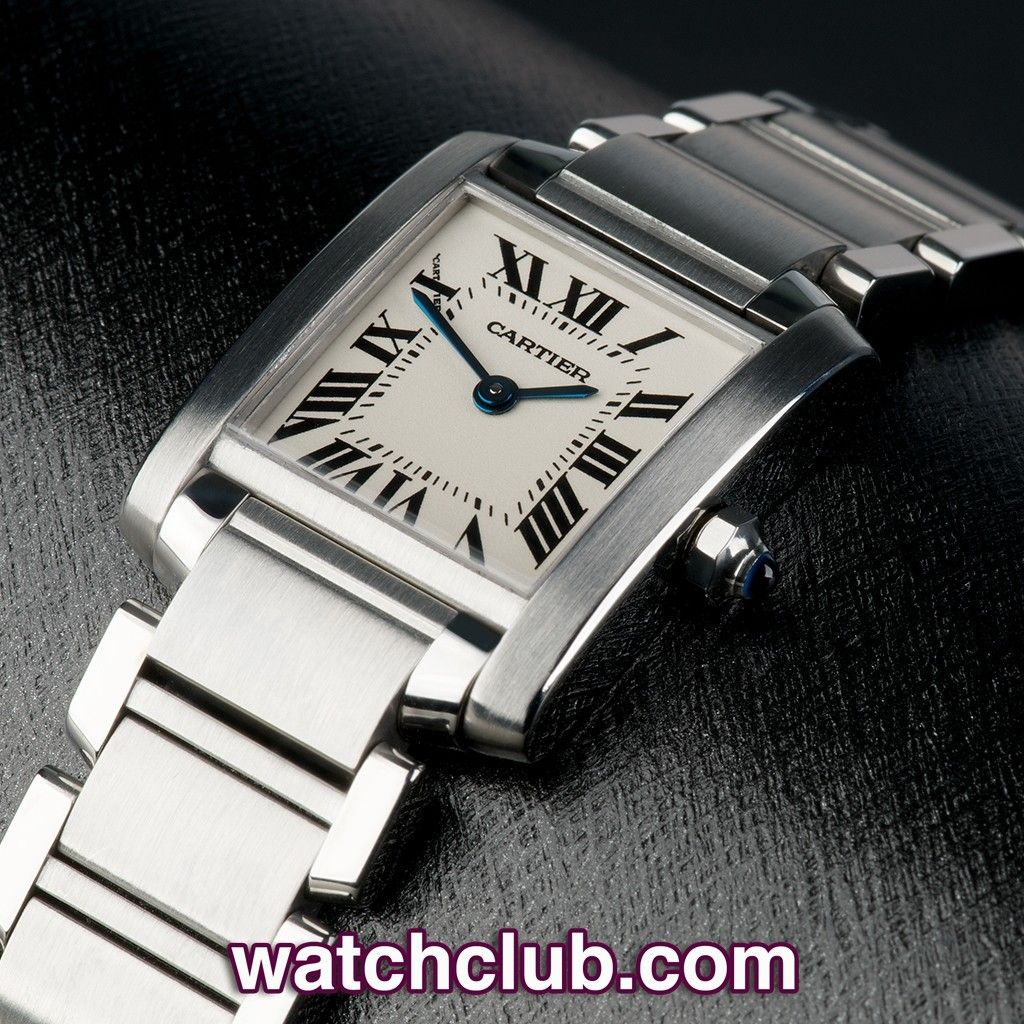 Cartier Tank Francaise Lady Box Papers Ref W51008q3 Year Oct 2003 One Of Our Best Selling Cartier S This Stain In 2020 Rolex Watches Everyday Watch Cartier