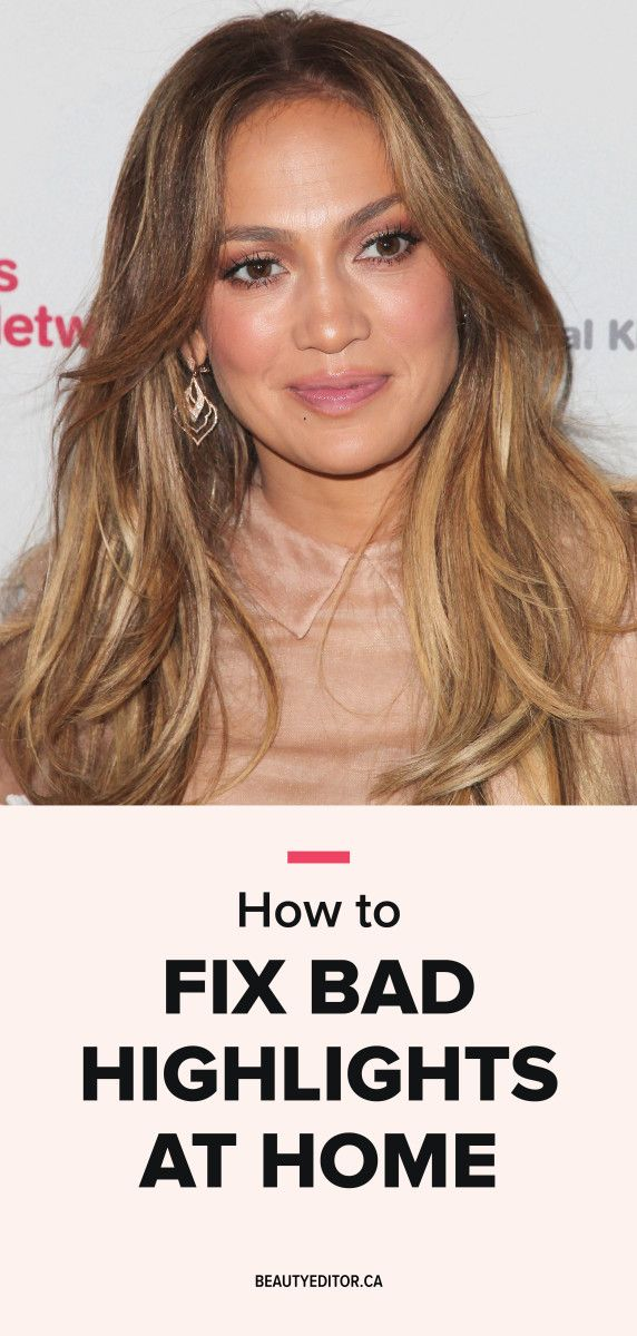 How To Fix Bad Highlights At Home Hairstylists
