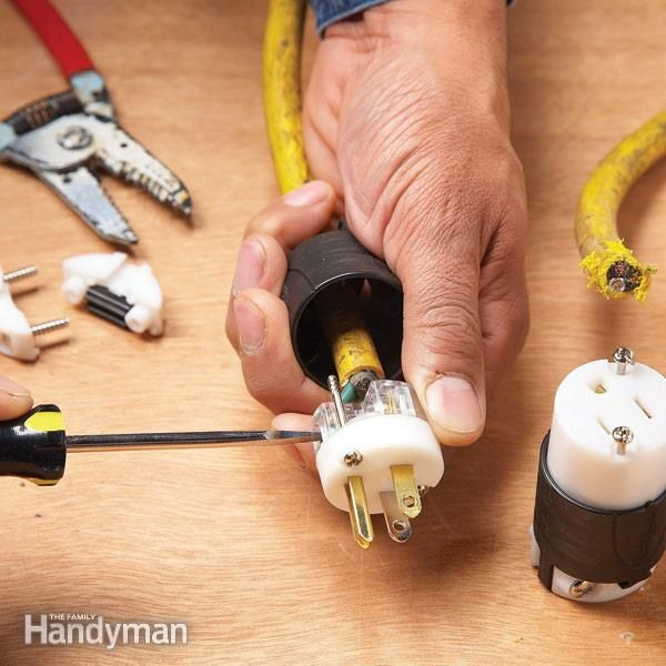 Wiring Extension Cord To Light Fixture