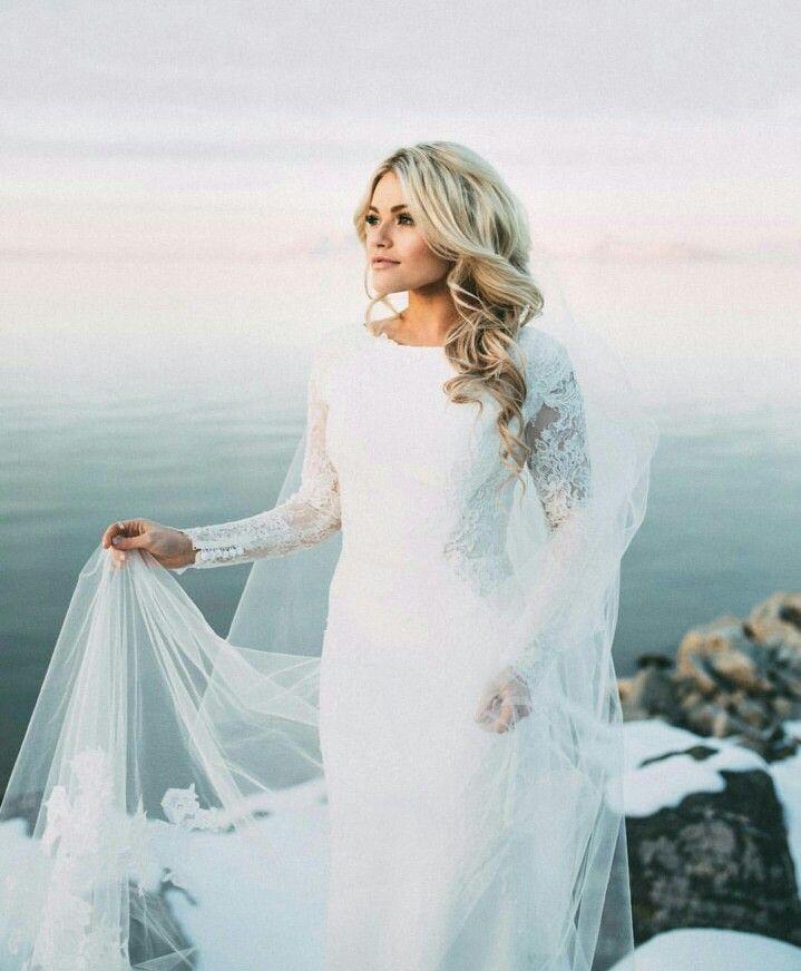 Whitney Carson McAllister wedding dress