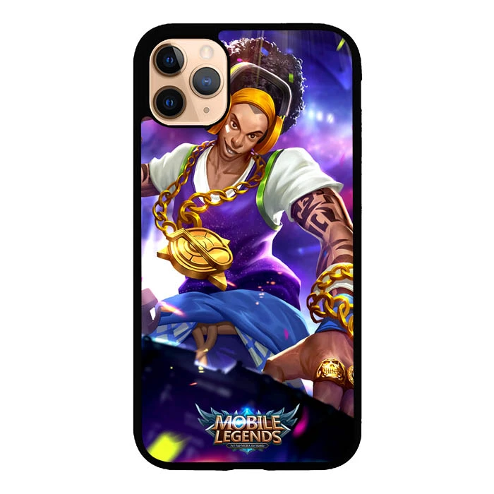 Mobile Legends Character L0100 Iphone 11 Pro Max Case Mobile Legends Protective Cell Phone Cases Clear Cell Phone Cases
