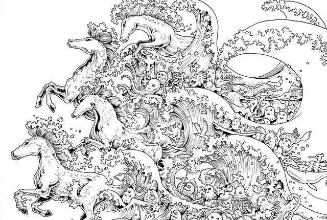 10 Intricate Adult Coloring Books To Help You De-Stress