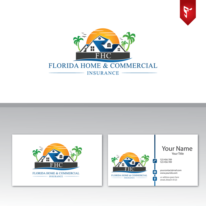 Create and eye catching logo and card for our agency by S