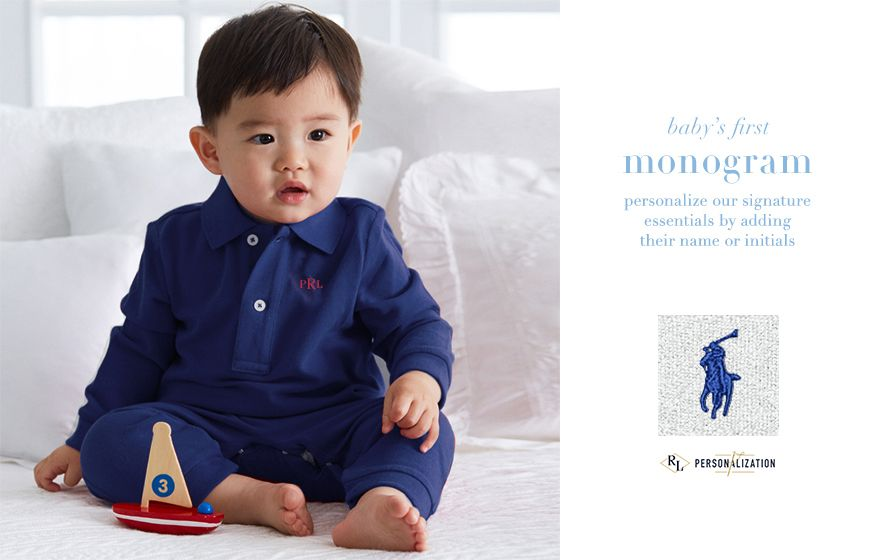 Baby's First... Make each moment special with iconic styles from Ralph Lauren