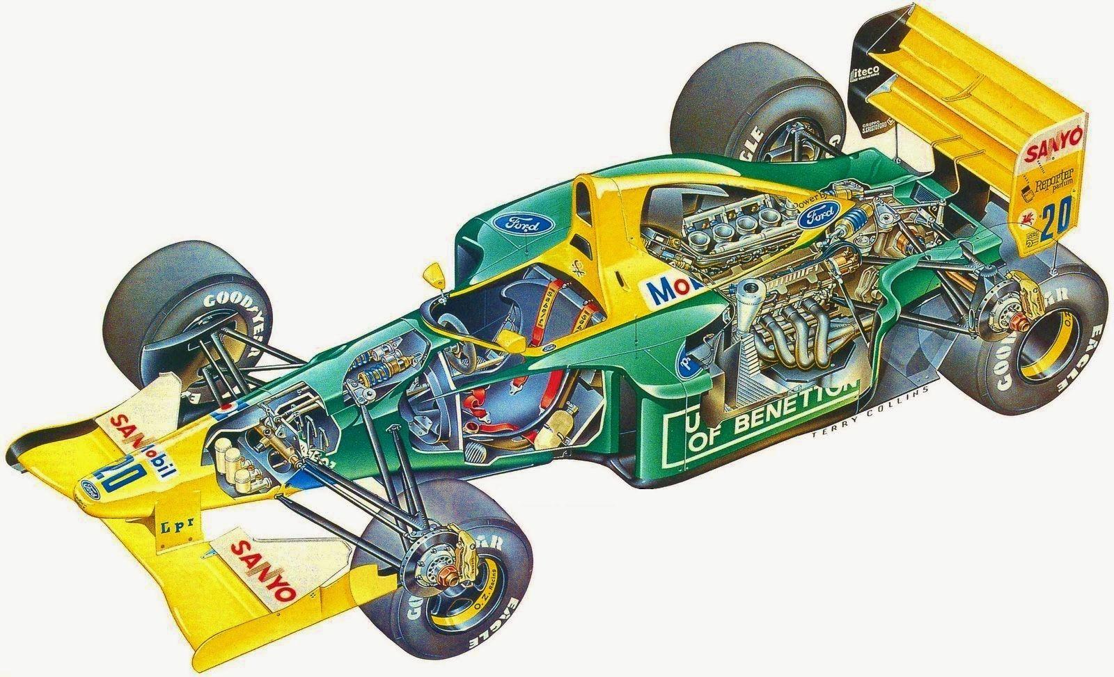 Pin by Gluefinger on Tamiya 1/20 B192 Indy cars