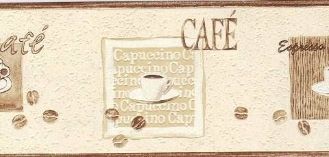 French Kitchen Cafe Wallpaper Border | Kitchen Wall Borders