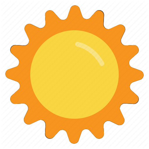 Hot Morning Summer Sun Sunlight Sunny Weather Icon Download On Iconfinder Weather Icons Icon Summer