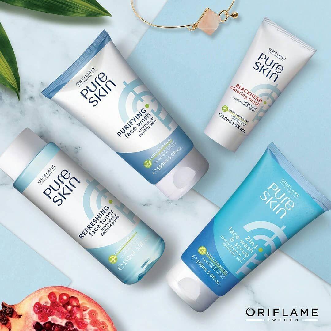 +60 [Pure Skin] Rangkaian skin care untuk kulit berminyak