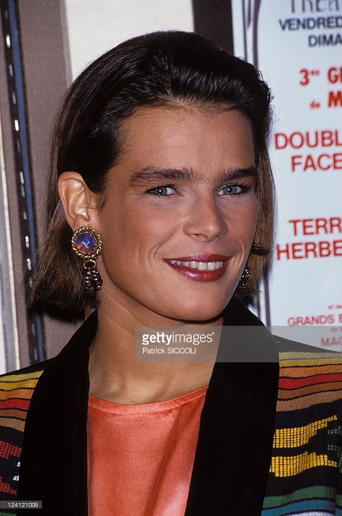 Stephanie of Monaco In Monaco, Monaco On April 06, 1990 - Princess Stephanie of Monaco.