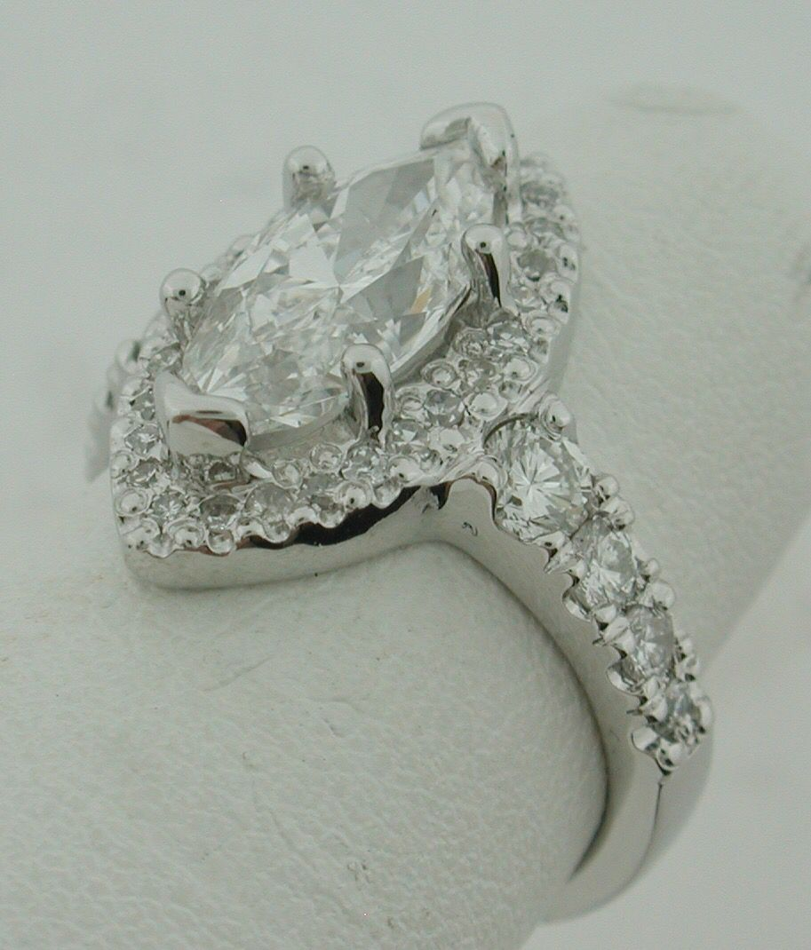 Marquise vintage engagement ring!