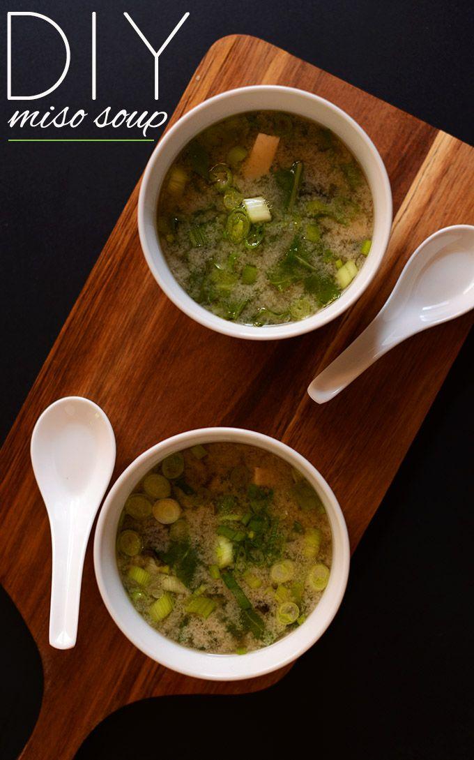 15 Minute Miso Soup With Greens Tofu Minimalist Baker Recipes Recipe Miso Soup Miso Soup Recipe Miso Recipe