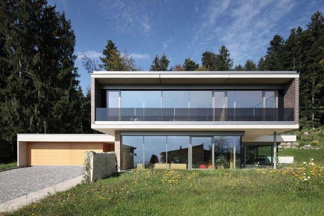 Architekt Hausbau innenarchitektur haus gulm aicher architekten architekten