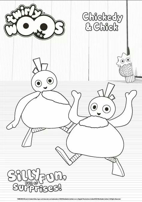 chickedy chick colouring in sheet - Fun Pictures To Colour In 2