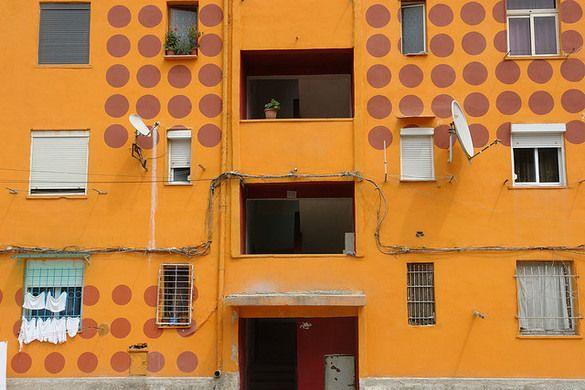 Tirana's Colorful Facade | Atlas Obscura