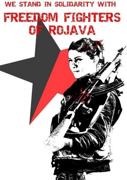 Rojava - also known as Syrian Kurdistan