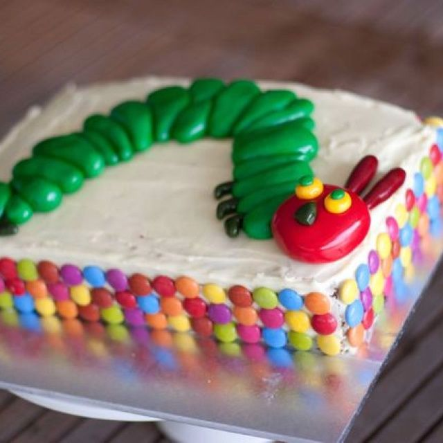 The Very Hungry Caterpillar...for a very cute 2yr old.  #CoutureCrumbs