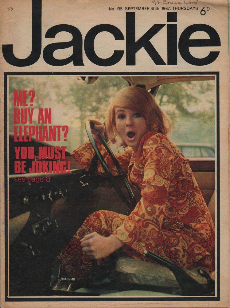 Jackie Magazine 30 September 1967 Issue No.195 Gary ...