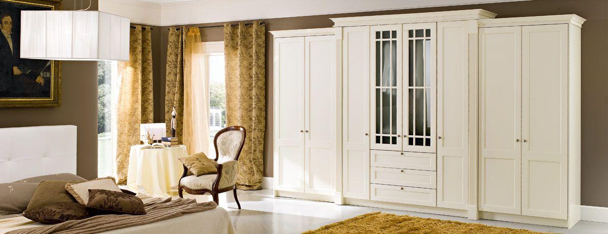 Springhill Allegro Bedroom Glazed Feature Door Cornice Detail Fitted Bedrooms Bedroom Layouts Bedroom Design