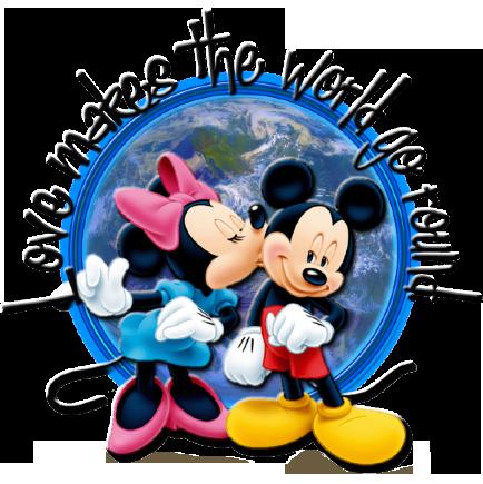 Mickey, Minnie || Love Makes The World Go Round ♥️