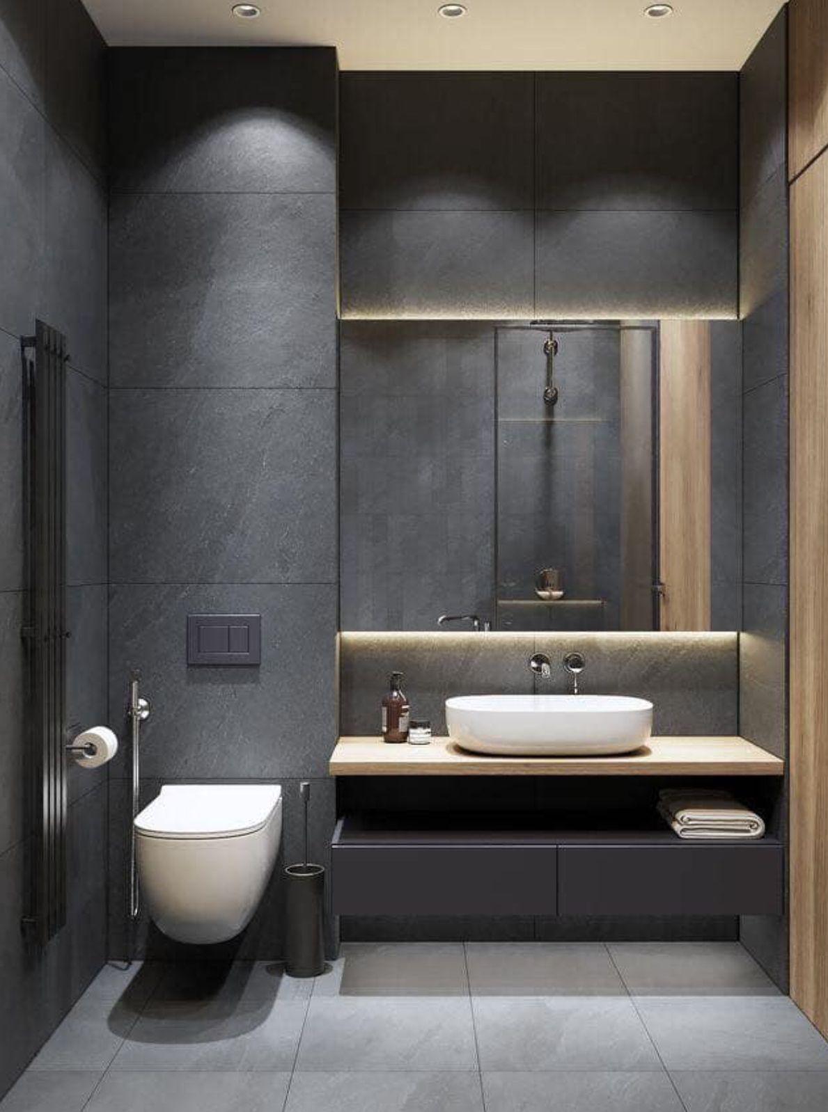 Pin By Michael Eric Dale Designer On Baths Washroom Design Minimalist Bathroom Design Restroom Design