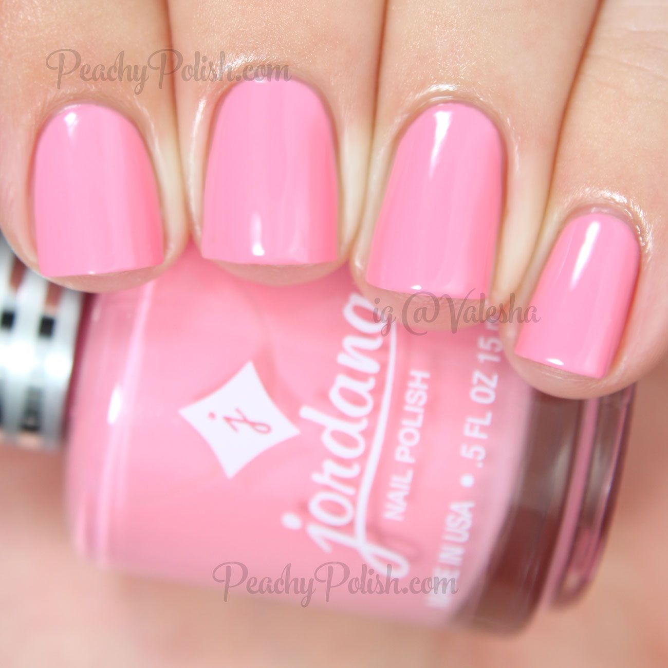Jordana Cosmetics Pink Petunia | Playful Pastel Collection | Peachy ...