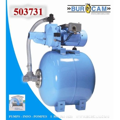 Bur Cam Pumps 503731 Convertible Jet Pump 80 Litre Jet Pump