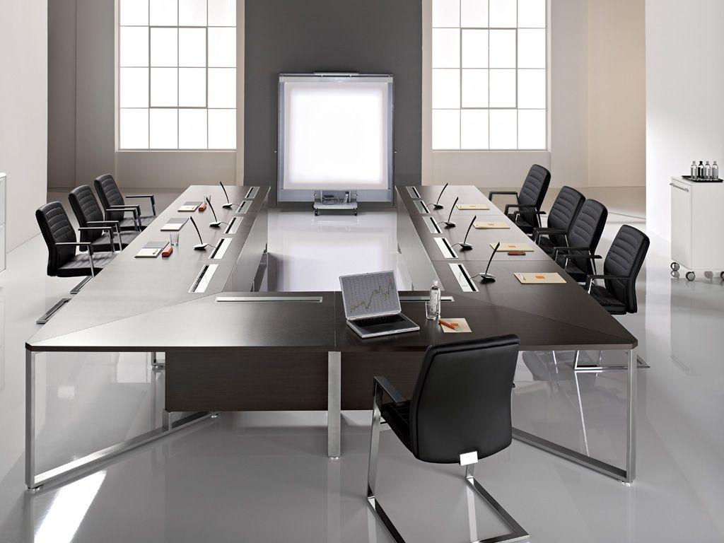 Arredo e idee meeting sala riunione visitor proposte for Mobili da ufficio design