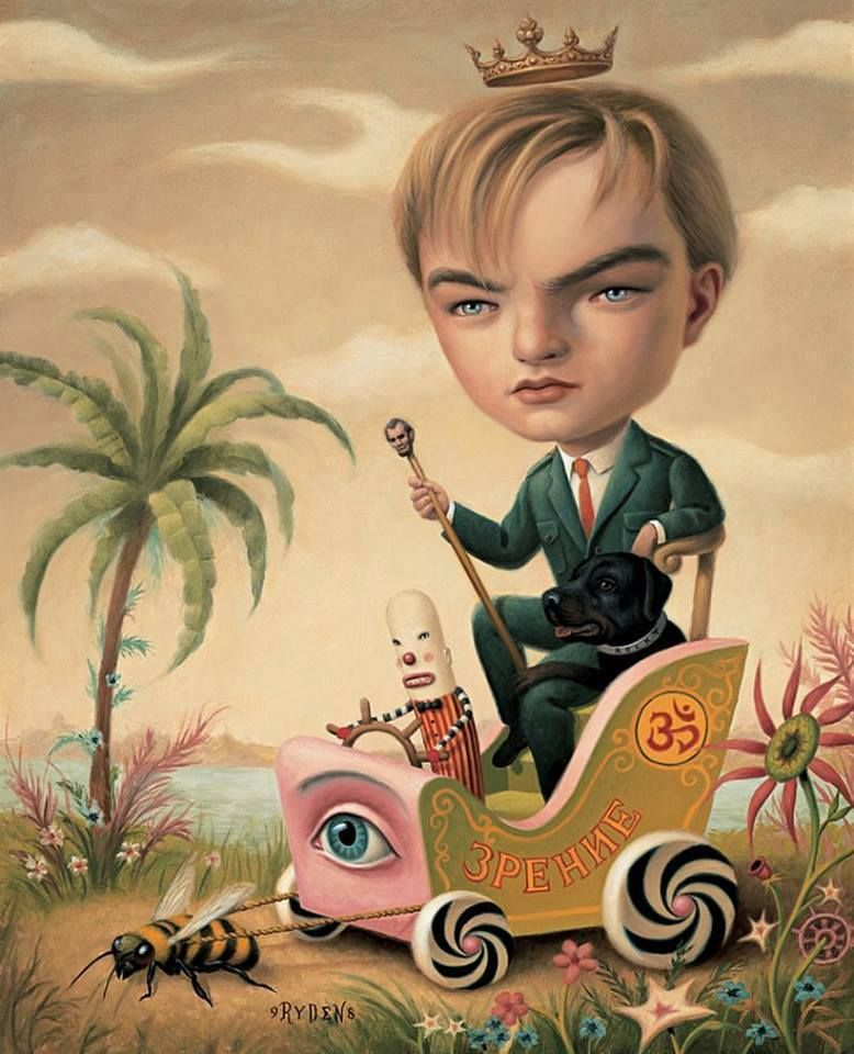 Leo, by Mark Ryden