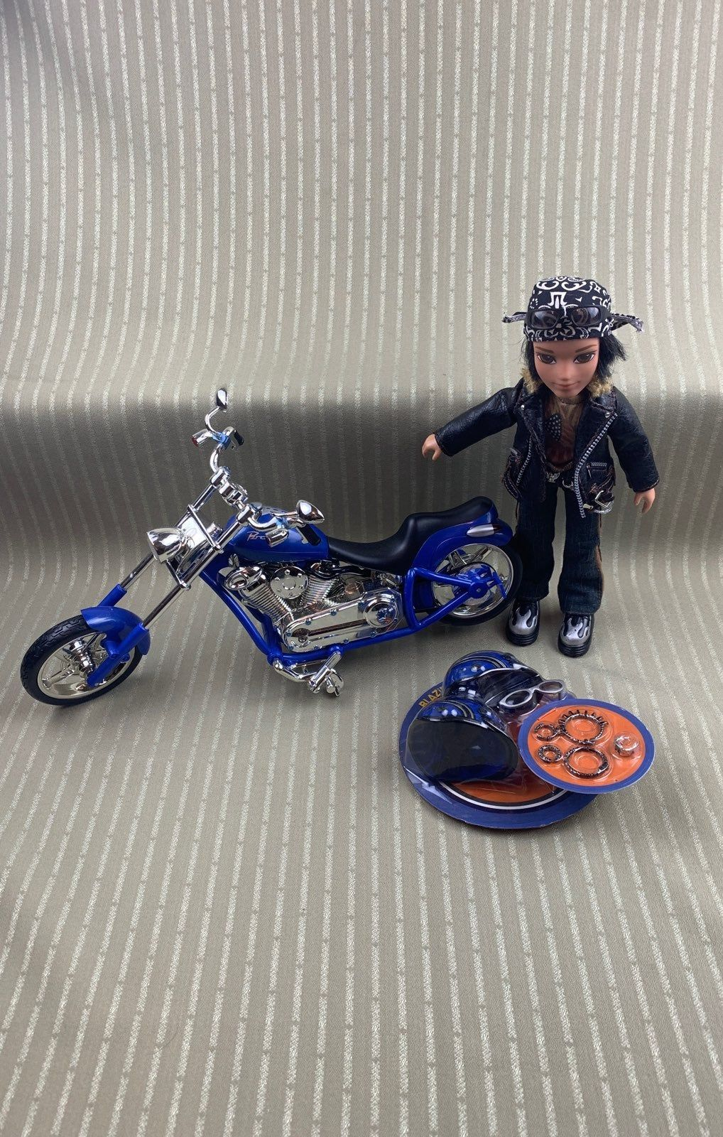 Includes The Doll His Accessories And Bike I Believe All 3 Were Taken Out Of Packaging And Stored Right Away Grea Bratz Girls Bratz Characters Fashion Dolls