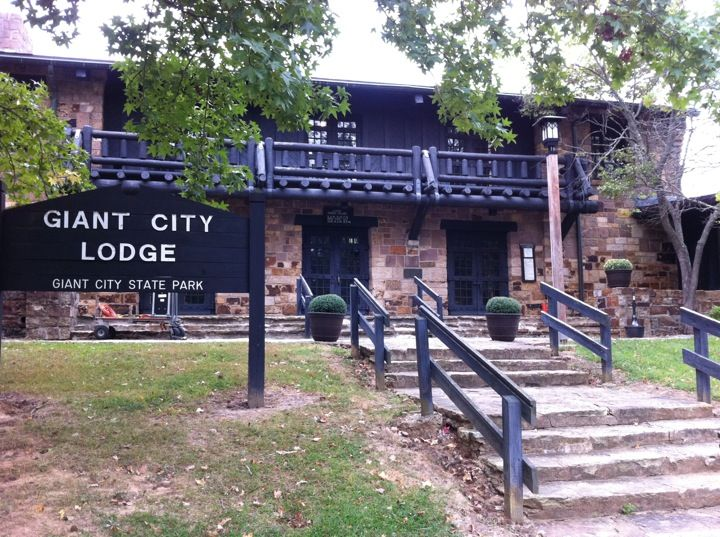 Giant City State Park Lodge in Makanda, IL