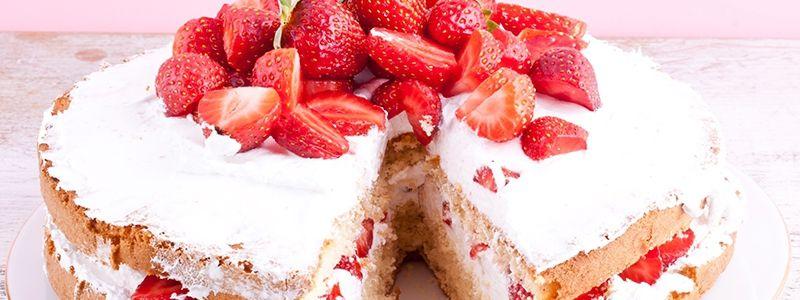 Jahodová torta | Mliečna rodina