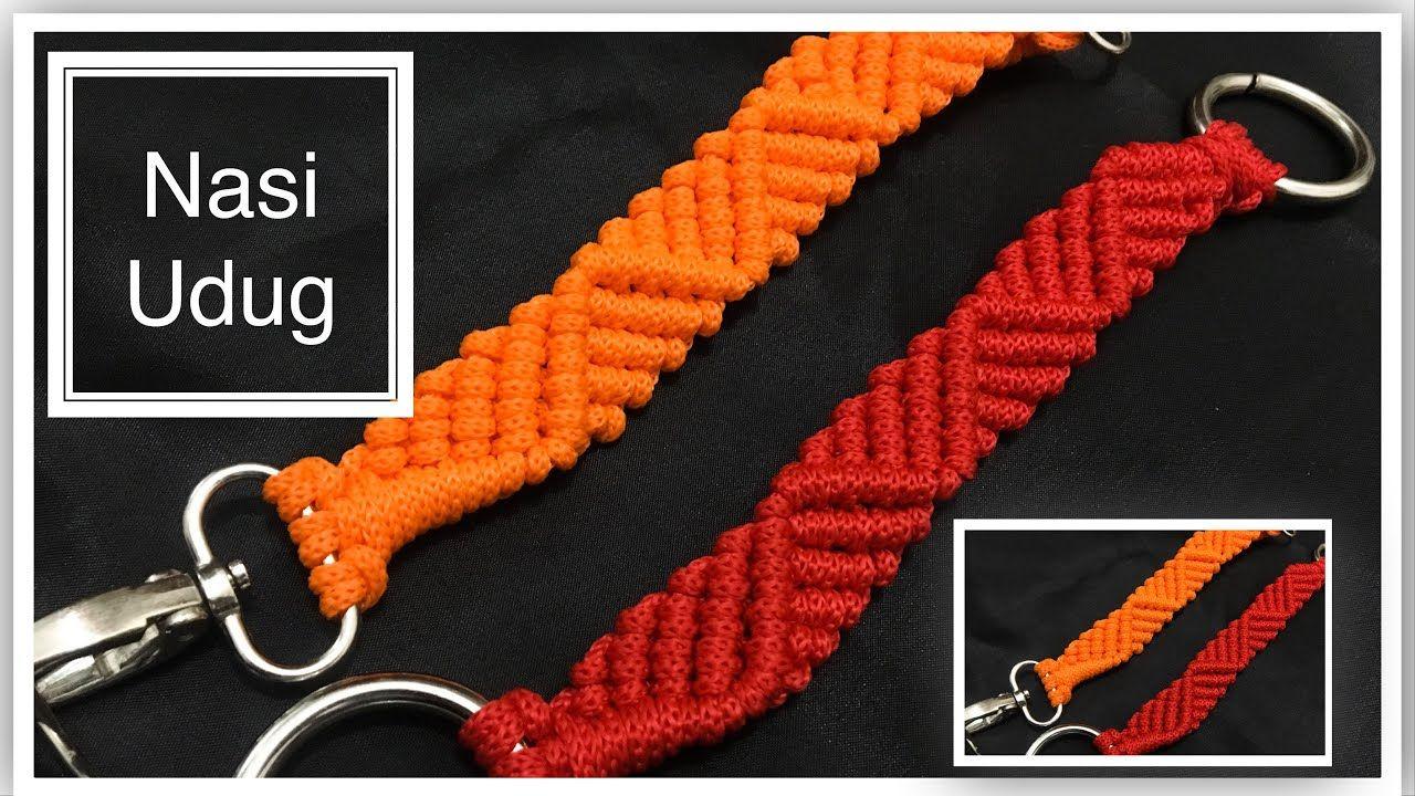 Cara membuat handle tas tali kur motif gelombang by ...