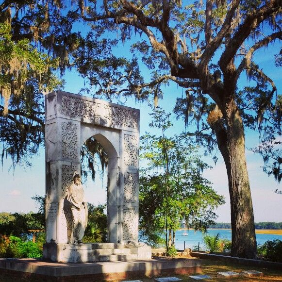 Bonaventure Cemetery & Wilmington River - Savannah, GA ...