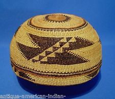 7cbceba8a25 Hupa basket hats for sale. Native American ...