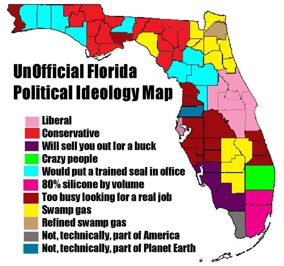 Pin By Marketa Henysova On Umerika Florida Funny Map Of Florida Florida