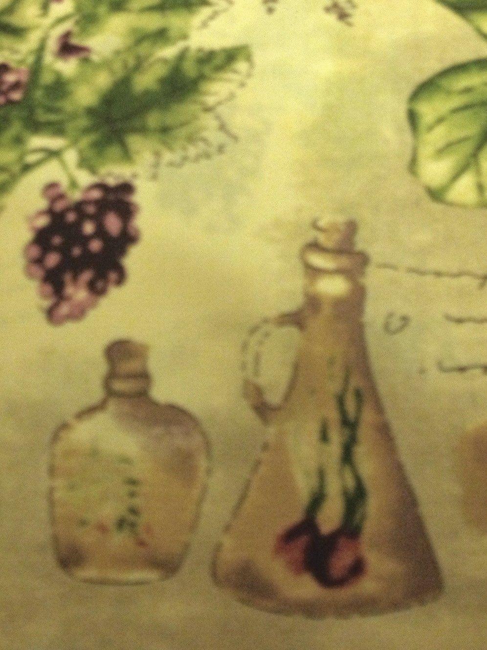 Superb Sorrento+Tuscan+Grapes+Oli Ves+Round+Tablecloth $26.95