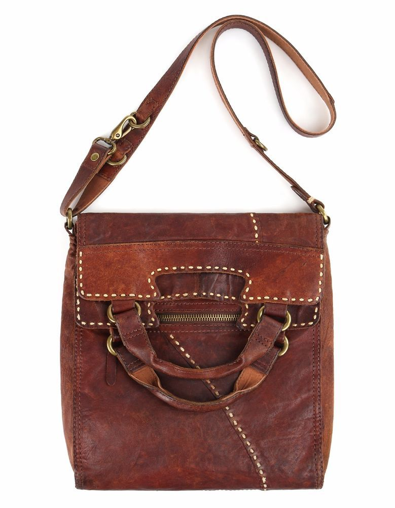1stdibs Wylys C.1970s Leather & Ostrich Handcrafted Southwestern Shoulder Bag Purse AtZfu