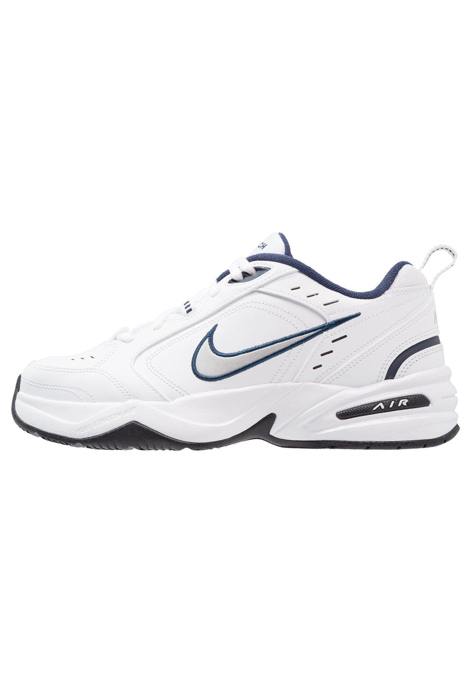 b8339b3e0bfc Nike Sportswear AIR MONARCH IV - Sneakers - white metallic silver -  Zalando.dk